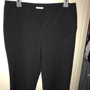 Anne Klein Black Slacks